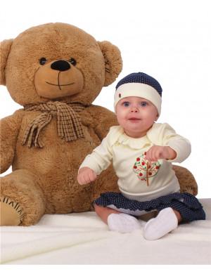"""Комплект для малышей боди с юбкой """"Яблочко"""""""